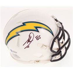 Antonio Gates Signed Los Angeles Chargers Speed Mini Helmet (Beckett COA)
