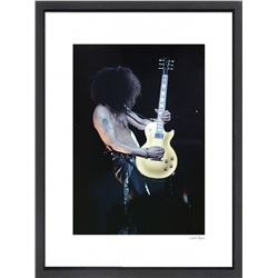"""Slash"" 16x20 Custom Framed Globe Hollywood Photo"