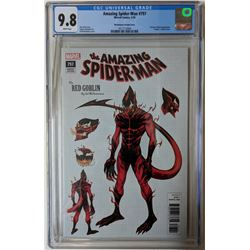 """2018 """"The Amazing Spider-Man"""" Issue #797 1:10 Ed McGuinness Variant Marvel Comic Book (CGC 9.8)"""