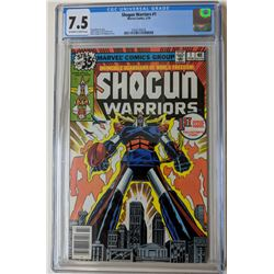 "1979 ""Shogun Warriors"" Issue #1 Marvel Comic Book (CGC 7.5)"