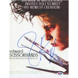 "Tim Burton Signed ""Edward Scissorhands"" 8x10 Photo (PSA COA)"