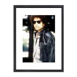 """Bob Dylan"" 16x20 Custom Framed Globe Hollywood Photo"