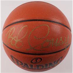 Bob Cousy Signed NBA Game Ball Series Basketball (PSA COA)