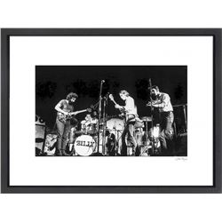 """The Grateful Dead at Woodstock"" 24x30 Custom Framed Globe Hollywood Photo"