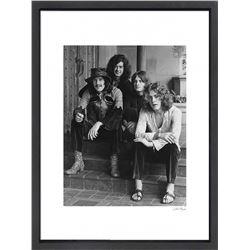 """Led Zeppelin"" 24x30 Custom Framed Globe Hollywood Photo"