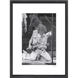 """Neil Young"" 16x20 Custom Framed Globe Hollywood Photo"