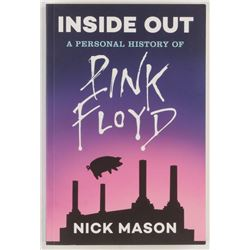 """Nick Mason Signed """"Inside Out: A Personal History of Pink Floyd"""" Paperback Book (Beckett COA)"""