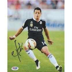 "Javier ""Chicharito"" Hernandez Signed Real Madrid 8x10 Photo (PSA COA)"