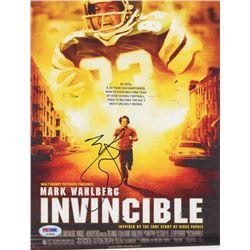 "Mark Wahlberg Signed ""Invincible"" 8x10 Photo (PSA COA)"