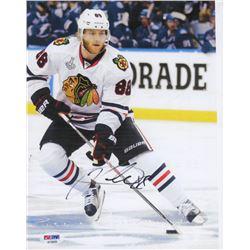 Patrick Kane Signed Chicago Blackhawks 8x10 Photo (JSA COA)