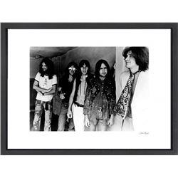 """""""The Kinks"""" 24x30 Custom Framed Globe Hollywood Photo"""
