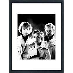 """""""The Police"""" 16x20 Custom Framed Globe Hollywood Photo"""