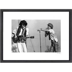 """The Rolling Stones"" 24x30 Custom Framed Globe Hollywood Photo"