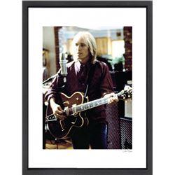 """Tom Petty"" 16x20 Custom Framed Globe Hollywood Photo"