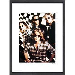 """Van Halen"" 24x30 Custom Framed Globe Hollywood Photo"