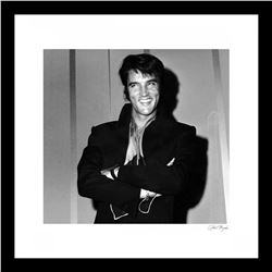 """Elvis Presley"" 24x30 Custom Framed Globe Hollywood Photo"