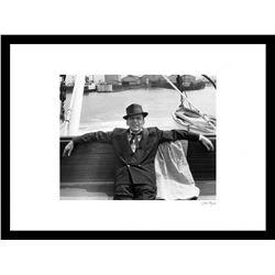"""Frank Sinatra"" 16x20 Custom Framed Globe Hollywood Photo"
