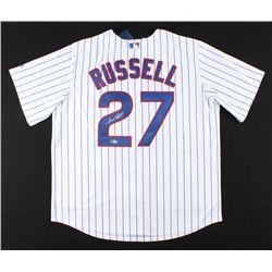 Addison Russell Signed Chicago Cubs Jersey (Beckett COA)