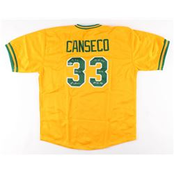 Jose Canseco Signed Jersey with Multiple Inscriptions (Beckett COA)