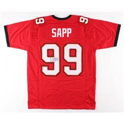 Warren Sapp Signed Jersey (JSA COA)