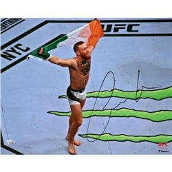 "Conor McGregor Signed ""UFC 205 Celebration"" 16x20 Photo (Fanatics Hologram)"