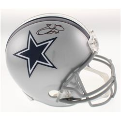 Emmitt Smith Signed Dallas Cowboys Full-Size Helmet (Beckett COA)