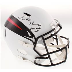 "Matt Ryan Signed Atlanta Falcons AMP Alternate Full-Size Speed Helmet Inscribed ""2016 NFL MVP""  ""Mat"
