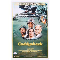 """Chevy Chase Signed """"Caddyshack"""" 11x17 Photo (PSA COA)"""