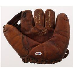 "Ozzie Smith Signed Vintage 1950's Baseball Glove Inscribed ""13x GG"", ""15x All-Star""  ""1982 World Ser"