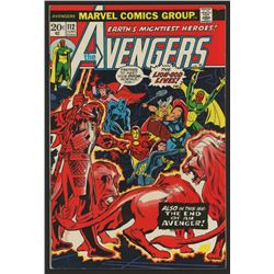 """1973 """"The Avengers"""" Issue #112 Marvel Comic Book"""