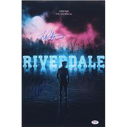 "Lili Reinhart  Camila Mendes Signed ""Riverdale"" 12x18 Photo (PSA Hologram)"