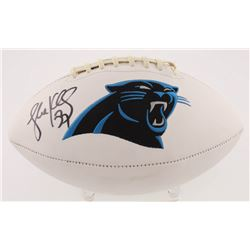 Luke Kuechly Signed Carolina Panthers Logo Football (Radtke COA)