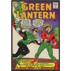 "1965 ""Green Lantern"" Issue #40 DC Comic Book"