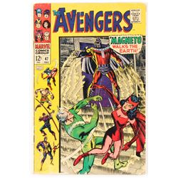 "1967 ""The Avengers"" Issue #47 Marvel Comic Book"