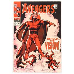 "1968 ""The Avengers"" Issue #57 Marvel Comic Book"