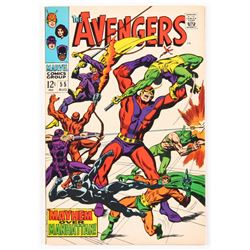 "1968 ""The Avengers"" Issue #55 Marvel Comic Book"