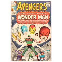 "1964 ""The Avengers"" Issue #9 Marvel Comic Book"