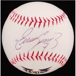 Eugenio Suarez Signed Louisville Bats Logo Baseball (JSA COA)