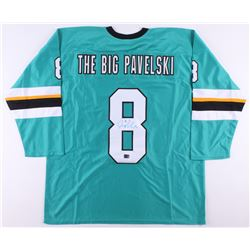Joe Pavelski Signed Jersey (Pavelski COA)