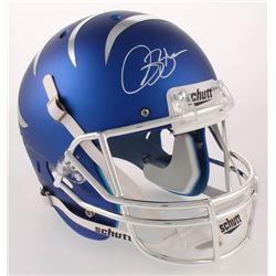 Isaac Bruce Signed Memphis Tigers Full-Size Helmet (Radtke COA)