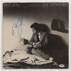 """Billy Joel Signed """"The Stranger"""" Vinyl Record Album Sleeve (PSA COA)"""