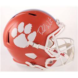 Deshaun Watson Signed Clemson Tigers Full-Size Speed Helmet (Radtke COA  Watson Hologram)