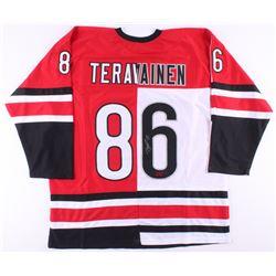 Teuvo Teravainen Signed Jersey (Your Sports Memorabilia Store COA)