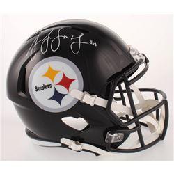 JuJu Smith-Schuster Signed Pittsburgh Steelers Full-Size Speed Helmet (Radtke COA)