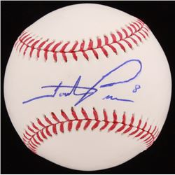 Hunter Pence Signed OML Baseball (JSA COA)