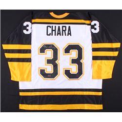 Zdeno Chara Signed Jersey (Chara COA)
