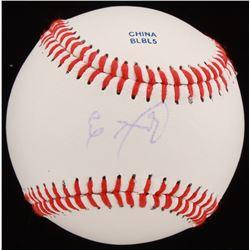 Eloy Jimenez Signed OL Baseball (JSA COA)
