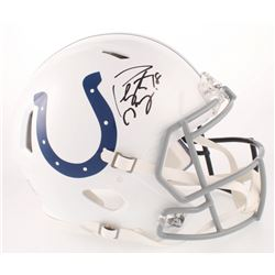 Peyton Manning Signed Denver Broncos / Indianapolis Colts Full-Size Authentic On-Field Speed Helmet
