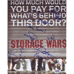 Storage Wars 8x10 Photo Signed by (6) with Dave Hester, Brandi Passante, Darrell Sheets, Jarrod Schu