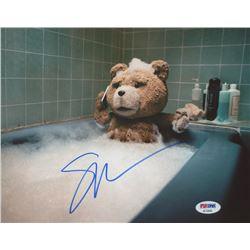 "Seth McFarlane Signed ""Ted"" 8x10 Photo (PSA COA)"